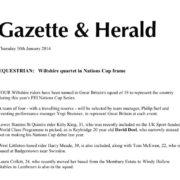 Wiltshire Gazette online