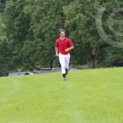 Running the XC course