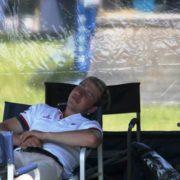 Hard day at Barbury