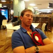 Winning medals is exhausting....